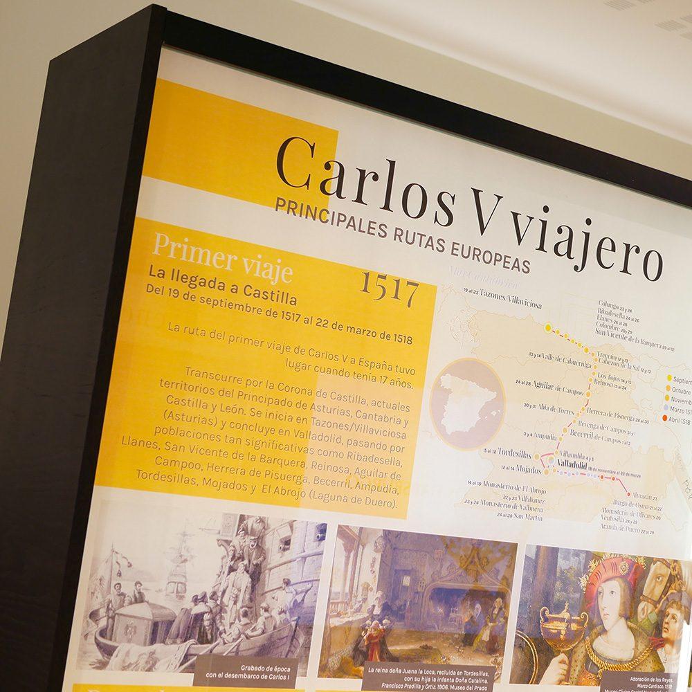 Carlos V viajero y guerrero
